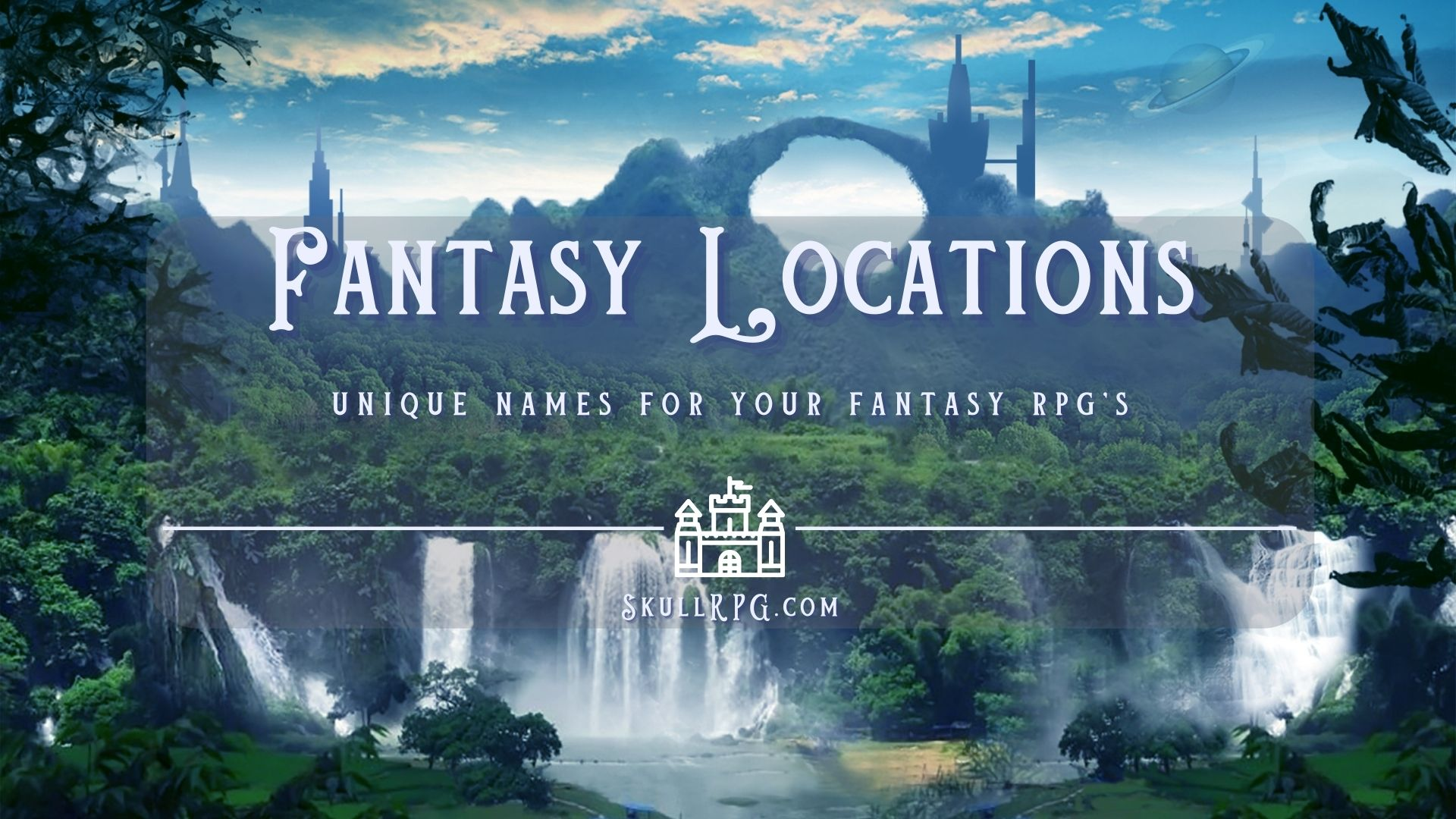 Fantasy Locations and NPC Names Cover Art